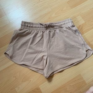 New Beige Revamped Shorts